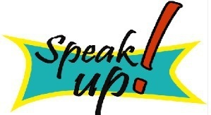 picture of the speak up! logo