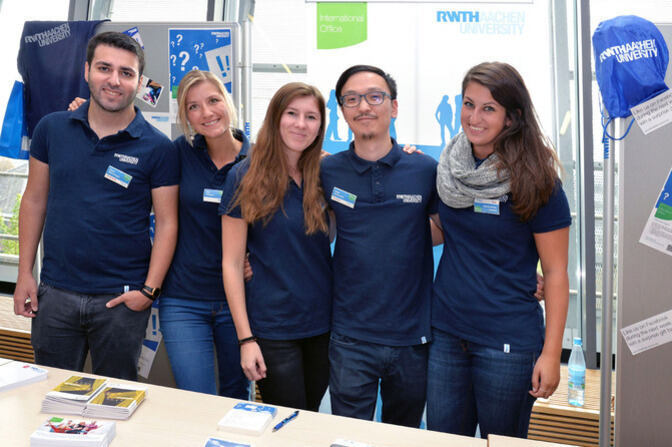Das Team des Info-Service Center