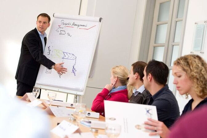 People in a seminar