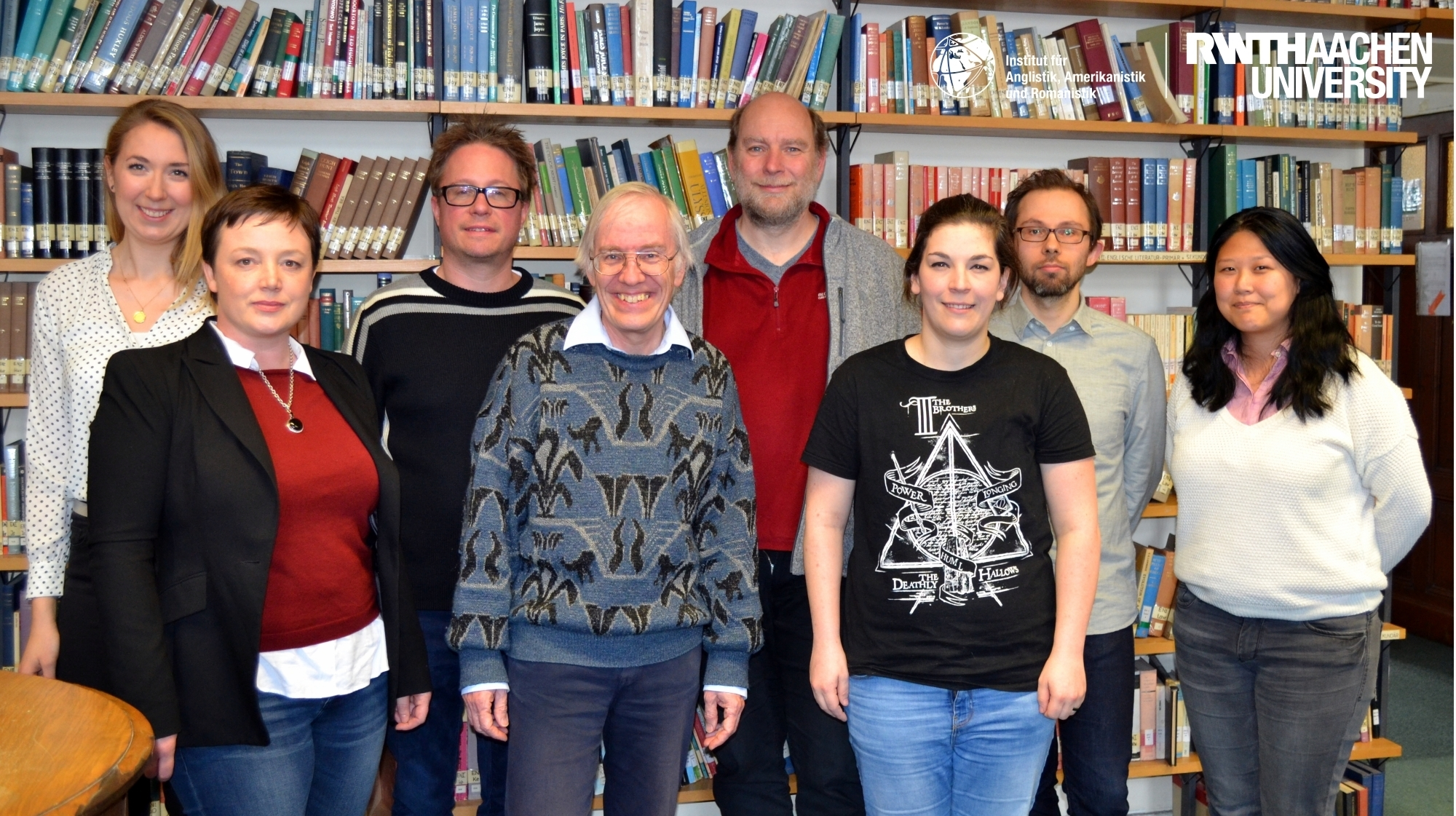 Aachen Research Team Cognitive Literary Studies, April 2017