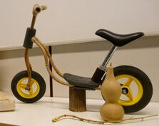 Balance bike and gourd